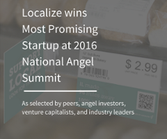 Localize wins Most Promising Startup at National Angel Summit-1